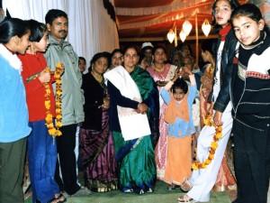 Indiešu kāzās (no etnoloģes Svetlanas Rižakovas fotoarhīva)