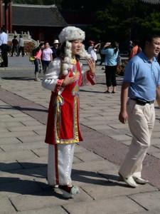 Ķīniete. Attēls no http://pixabay.com/en/woman-girl-wig-china-186055/
