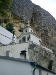 Klostera baznīca Bahčisarajā Krimā (no E.Taivānes fotoarhīva)